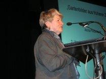 Anna Federauer bei ihrem Vortrag