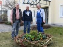 Georg, Elisabeth und Hans